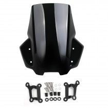 Motorcycle ABS Windscreen Protector for Suzuki Katana 2019 2020 With Bracket Wind Shield Motor Parts